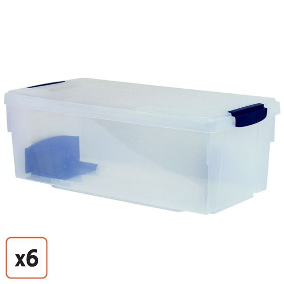 Rubbermaid Keepsake Photo & Media Box - Holds 32 CD's - about $12.00- about a dozen boxes