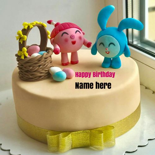 Happy Birthday Wishes Cake For Kid With Name On It Write Name On Birthday Cake Cartoon B Happy Birthday Wishes Cake Birthday Wishes Cake Happy Birthday Cakes