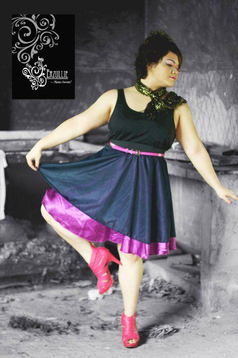 Erzullie Plus Size Skirt. Holiday 2010