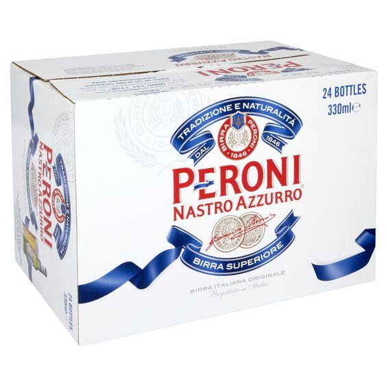 Bia Peroni 5,1% - Chai 330ml - Bia Nhập Khẩu