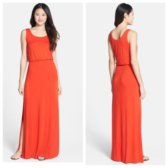 Felicity&Coco Jersey Maxi Dress Worn once! Slits up both sides. Jersey, tank maxi dress. Felicity&Coco Dresses Maxi