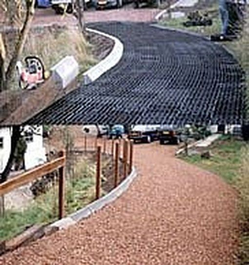 How To Build A Driveway With Sand Grass Or Gravel Driveway Materials Diy Driveway Permeable Driveway