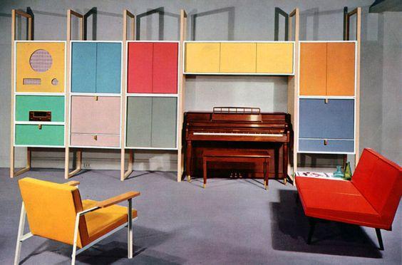 1950's home accessories | Plan59 :: Retro 1940s 1950s Decor & Furniture :: Hi-Fi Storage Unit ...