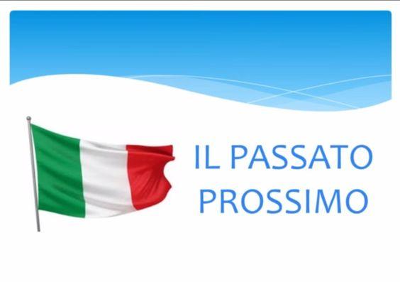 Il Passato Prossimo en Italiano. Montserrat Cañada Pujols. Vídeo enriquecido sobre la utilización de este tiempo verbal en italiano.