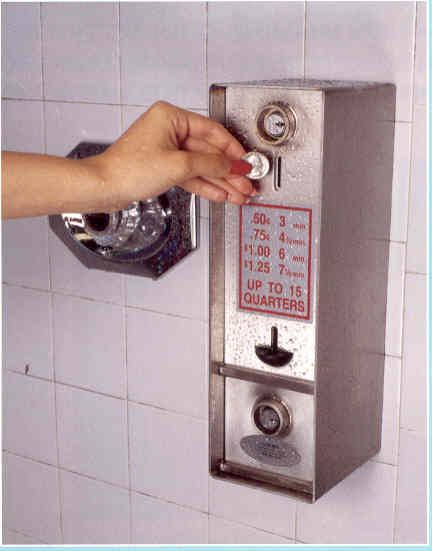 How To Use A Coin Operated Shower Stepbystep Living
