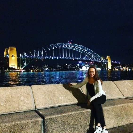 Sydney Harbour Bridge by night  #sydneyharbourbridge #travel by le_b_bomb http://ift.tt/1NRMbNv