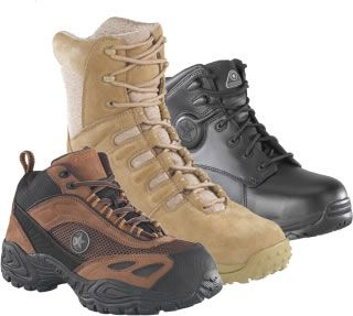 Whether it is construction, paving, dirt hauling or truck driving, you need a tough pair of safe shoes or boots to get you through your hard day's work.