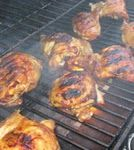 Grilled Asian Style Marinated Chicken