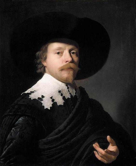 """Portrait of a Gentleman"" by Gerrit van Honthorst ... http://consentidoscomunes.blogspot.com/2013_03_01_archive.html:"