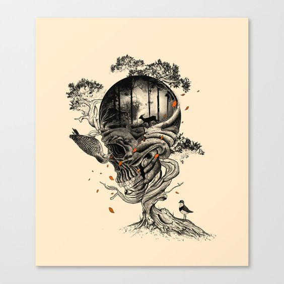 Lost Translation Stretched Canvas by Nicebleed | Society6