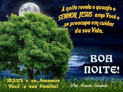 Boa Noite A Graca E A Paz Do Senhor Palavra Oracao