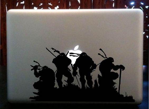 ninja turtles - MacBook Decals and Stickers