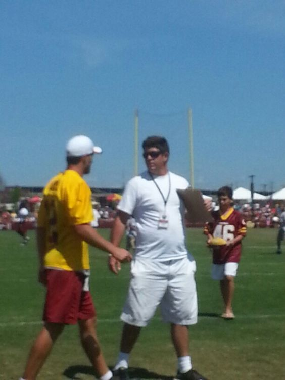 Our AWESOME backup QB #12 Kirk Cousins training camp 8/5/13