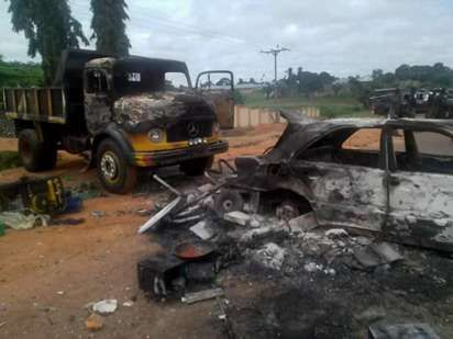 The students of Fidei Polytechnic, Gboko went on a rampage over unpaid tuition…