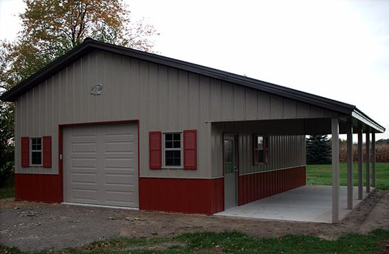 Pinterest the world s catalog of ideas for Garage workshop buildings
