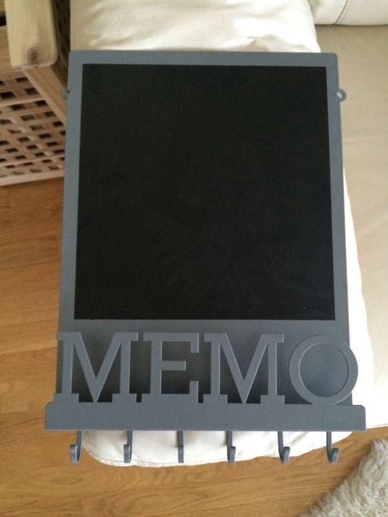 Vintage magnetic memo board notice board blackboard key for Best home decor pinterest boards