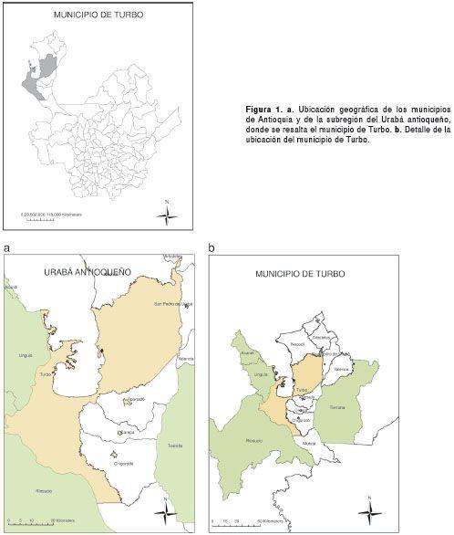 Factores de riesgo sociales y ambientales relacionados con casos de leptospirosis de manejo ambulatorio y hospitalario, Turbo, Colombia   Yusti   Biomédica