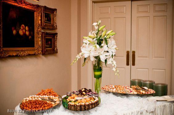 fruit table, Sherwood Country Club, Christina Logan Design, www.christinalogandesign.com