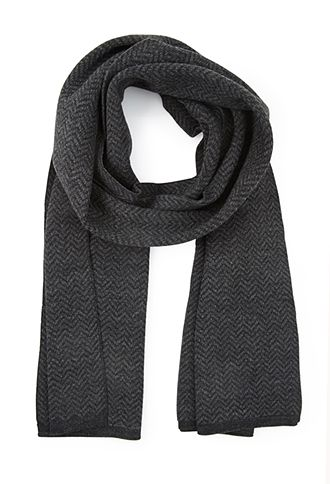 Heathered Zigzag Scarf   21 MEN - 1000066581 Forever Holiday Wish List Forever21.com #ForeverHoliday