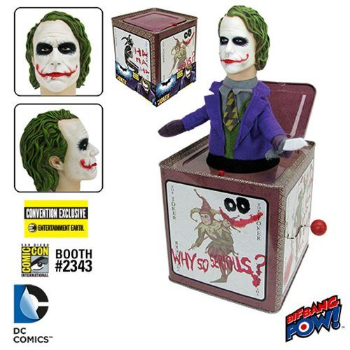 The JOKER Jack in the Box Convention Exclusive Batman Dark Knight