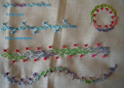 TAST 2012 - Semaine 12 puntos de chaînette torse - prohibido cadeneta
