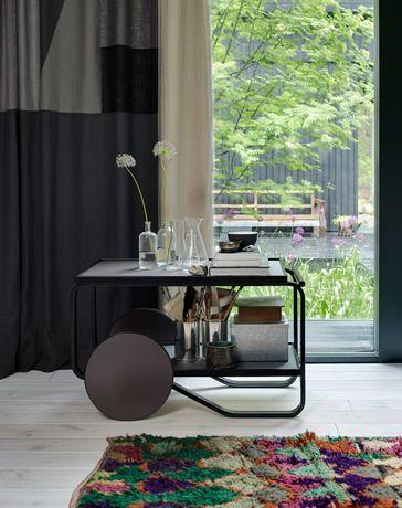 家具 ブランド メーカー インテリア アルテック ティートロリー ブラック 北欧