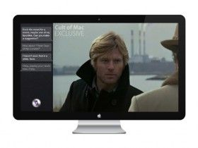 """Is This What The Apple HDTV Looks Like? - Cult of Mac    The Apple HDTV looks like Apple's current lineup of LED-backlit Cinema Displays but is """"much bigger."""""""
