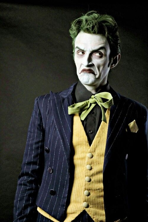 Anthony Misiano-Joker cosplay: