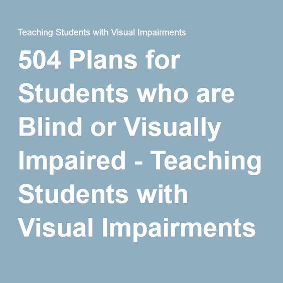 Classroom Design For Visually Impaired : Visual impairment teaching and student on pinterest