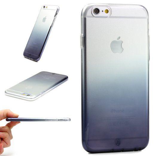 Apple iPhone 6 Plus/6s Plus Handyhülle von original Urcover® in der Baseus Regenbogen Edition iPhone 6 Plus/6s Plus Schutzhülle Silikon Case Cover Schale Etui Hülle | Deutscher Fachhandel | Schwarz: Amazon.de: Elektronik 9,90€