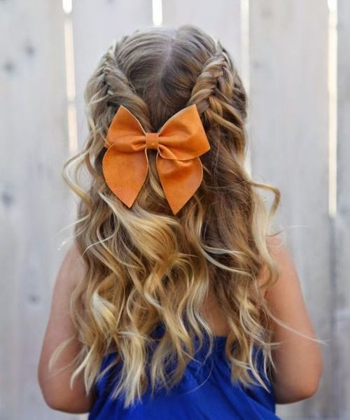 Cutest Braided Hairstyles For Little Girls 2018 Styles Beat Hair Styles Kids Hairstyles Flower Girl Hairstyles