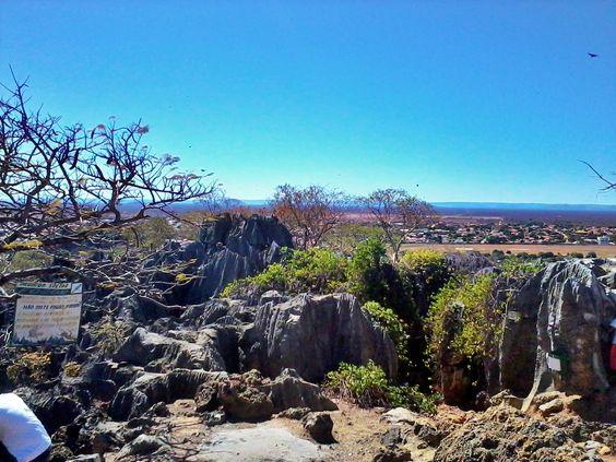 Vista Do Morro Da Gruta Do Senhor Bom Jesus Ao Fundo A Cidade Em