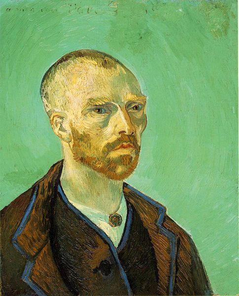 Van Gosh, Self-Portrait, 1888.