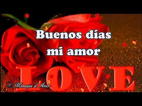 Buenos Dias Amor Hermoso Dia Para Ti Video De Amor Para Dedicar