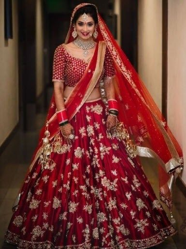 Latest Bridal Lehenga Designs For 2019 2020 Bride Top 20 Best Lehenga Indian Bridal Dress Bridal Lehenga Red Indian Bridal Outfits
