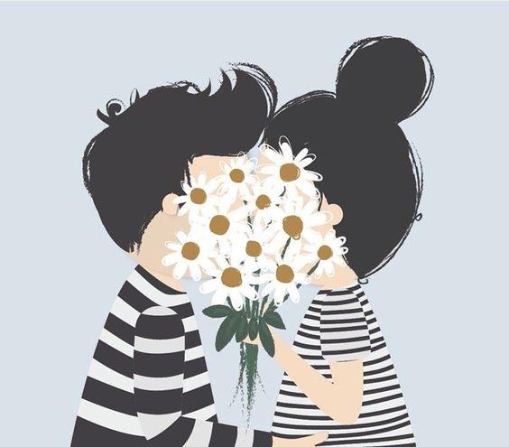 07 iamlubi #illustration #fleur #paquerette