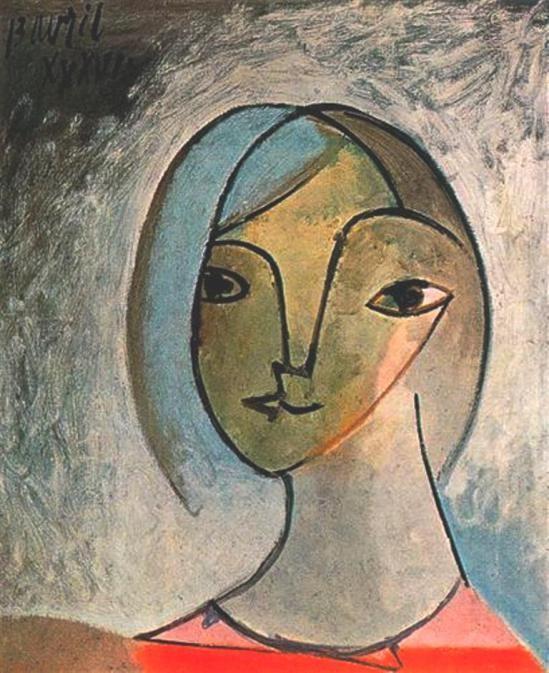 Pablo Picasso - Cubism - Buste de femme 1936