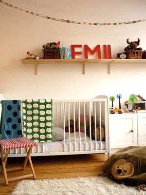 domestic candy: emils kinderzimmer | baby number 2 room, Hause ideen