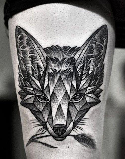 Animal Tattoo by Kamil Czapiga | Tattoo No. 12271