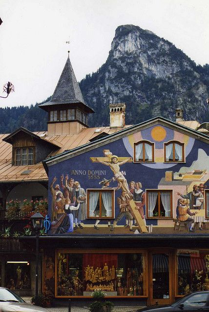 Oberammergau - The Passion Play.  Repinned by www.mygrowingtraditions.com: