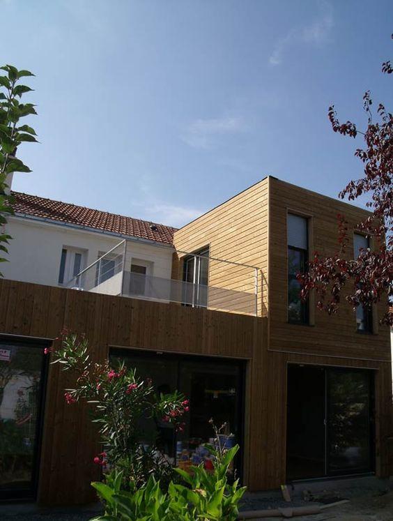 YOU Charpente bois maison bois maison ossature bois Maison en bois
