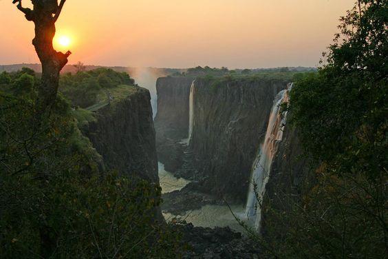 #MaravillasNaturalesDelMundo - Cataratas Victoria - Locación: Zimbabue.