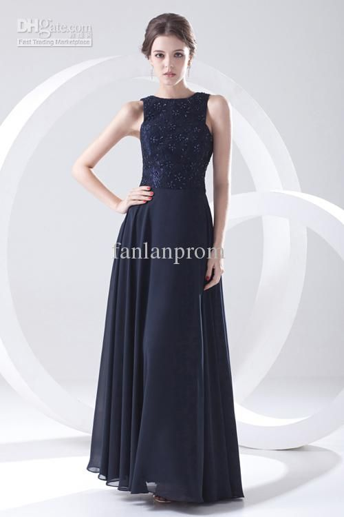 Wholesale Mother of the Bride Dresses - Buy New Arrival Elegant Custom Made Chiffon Beaded Lace Sequins Floor Length Sheath Mother Of The Bride Dresses Evening Dress FAst Delivery, $155.0 | DHgate