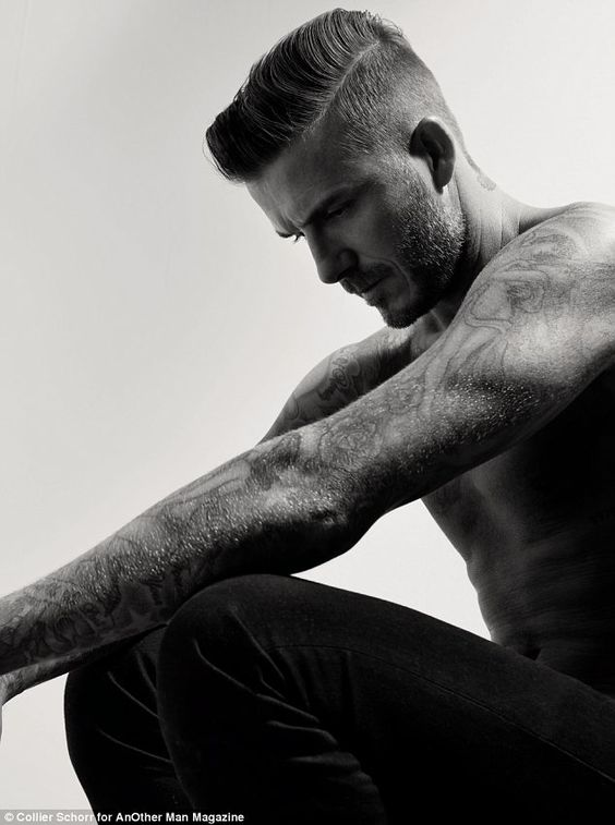 David Beckham posed shirtless for a new photoshoot for AnOther Magazine which is sure to make his fans swoon