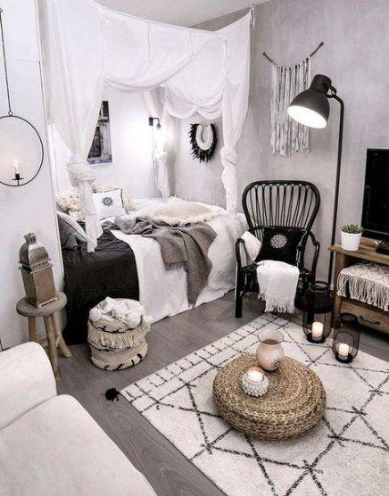 25 Ideas Apartment Bedroom Black Furniture Boho Bedroom Decor Comfortable Bedroom Decor Home Decor Bedroom
