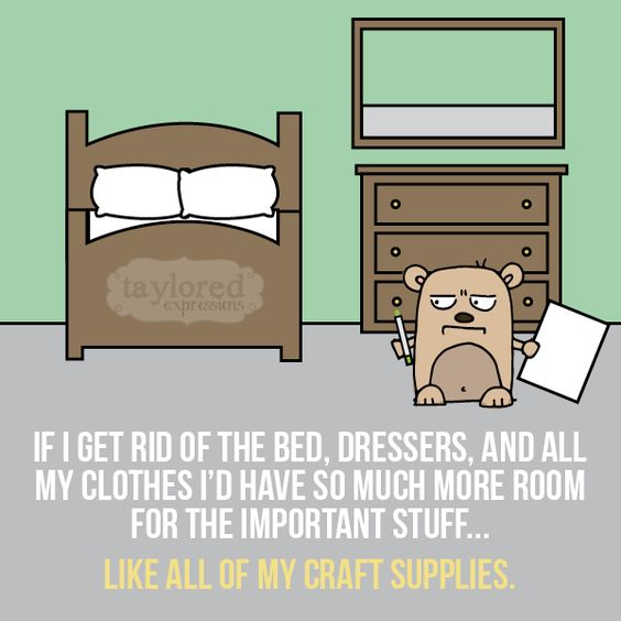 #crafthumor #craftquotes #tayloredexpressions #cardmaking #crafting #sewing #scrapbooking: