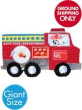Giant Fire Truck Pinata-Party City