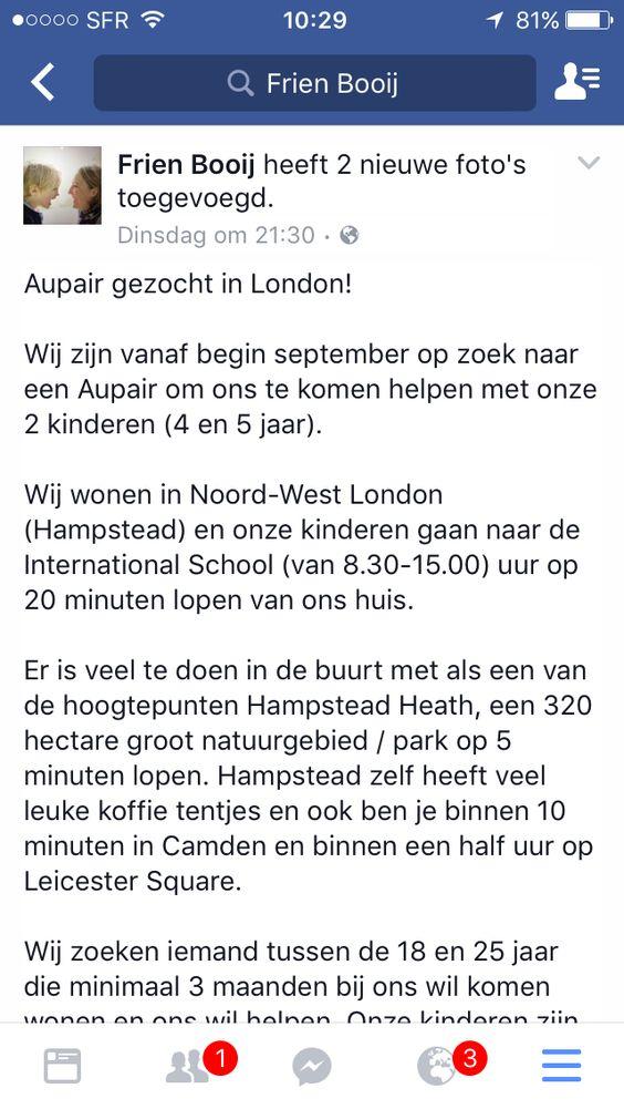 Au pair London
