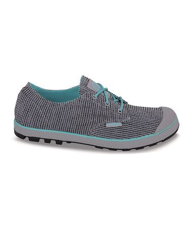 Take a look at this Dove & Pool Blue Slim Oxford II Sneaker by Palladium on #zulily today! $35 !!