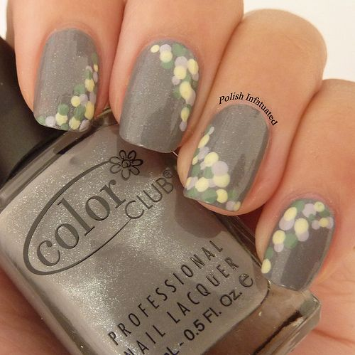 Pinned by www.SimpleNailArtTips.com SIMPLE NAIL ART DESIGN IDEAS -   Going dotty!